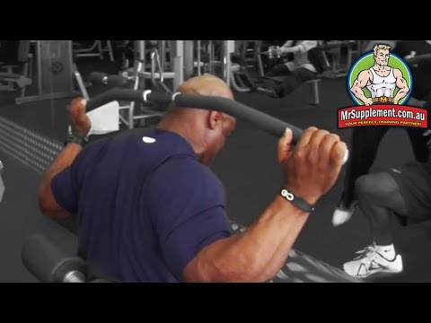 Ronnie Coleman - Lat Pull Down (Behind The Neck) Image 1