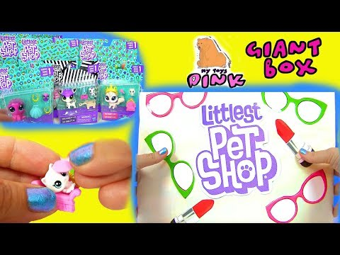 Giant Surprise Box #LPS Littlest Pet Shop Babies, Mommies and Daddies #ДЕТСКИЙ САД ЛПС | МАЙТОЙСПИНК