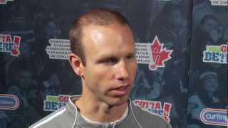 Tiebreaker Media Scrum - 2012 Capital One Canada Cup