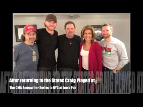 Craig Morgan Calls in from Afghanistan