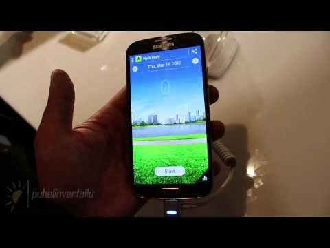 Samsung Galaxy S4 - Hands-on