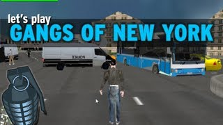 """Let's Play: """"Gangs of New York"""" (Grand Theft Auto ripoff)"""