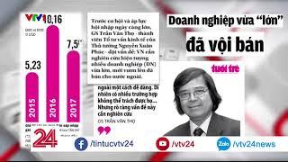ĐIỂM BÁO: Thương hiệu Việt chưa lớn đã vội bán? - Tin Tức VTV24