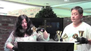 Larry and Carla - Ma Navu (How Lovely On The Mountains) (handbell duet)