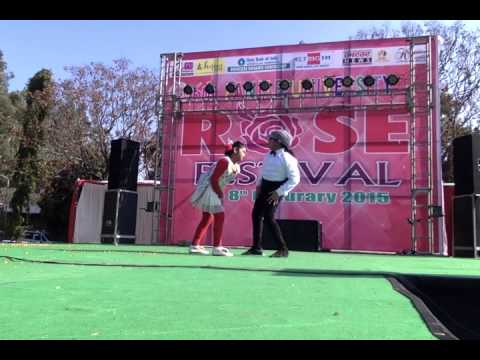 Panjab University, Chandigarh Rose Fest 2015, Duet Dance By Children video