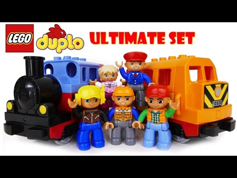 LEGO Duplo My First Train Set and Deluxe Train Set
