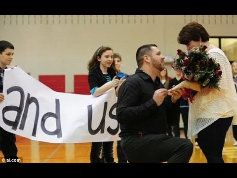 Jess Says Yes Flash Mob Proposal