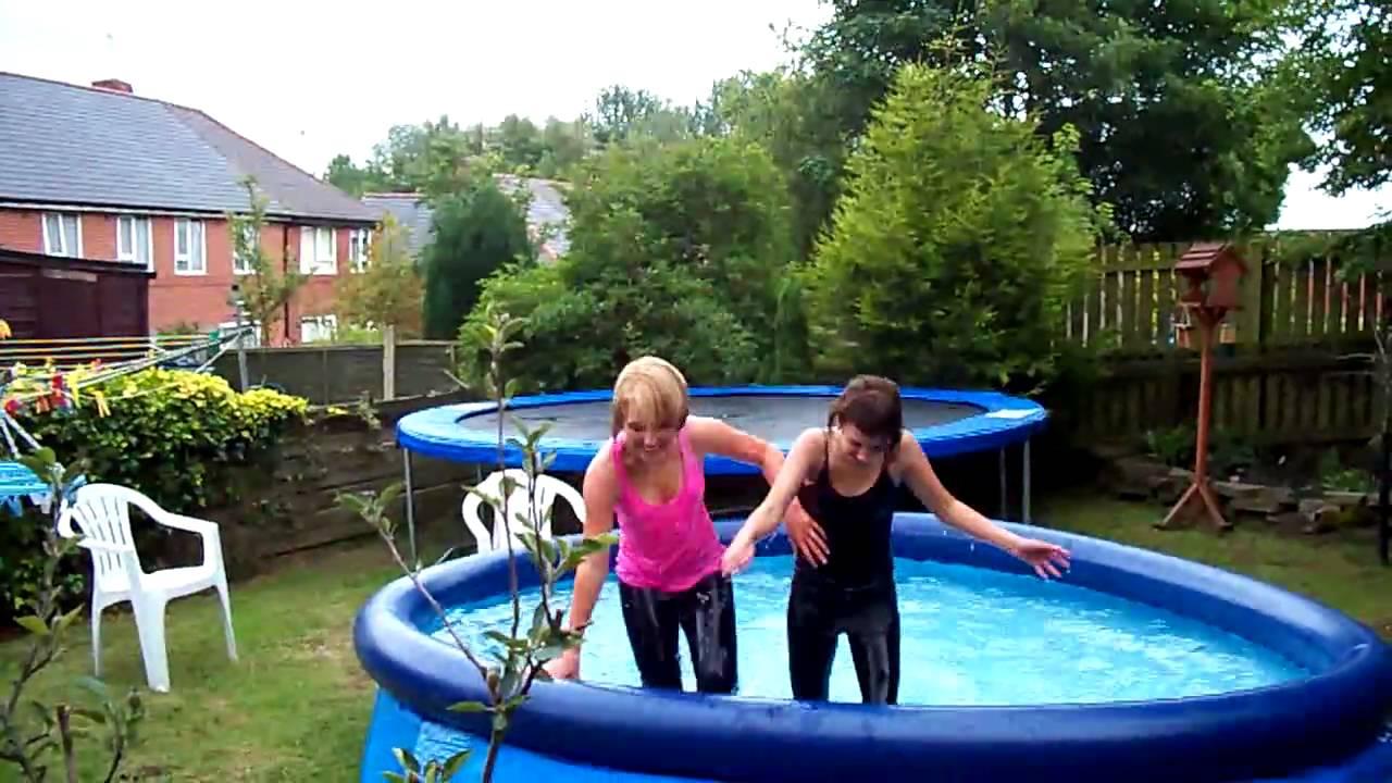 pool versenken