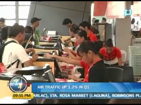 NewsLife: Air traffic up 1.2% in Q1