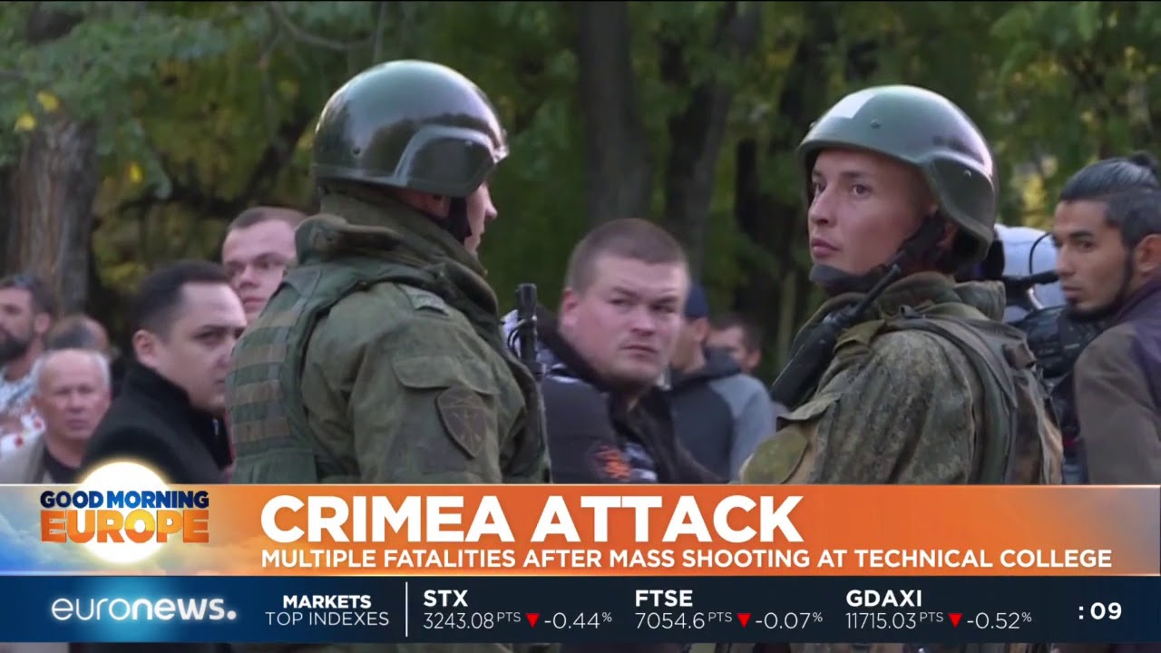 #GME |Multiple fatalities after mass shooting at college in Crimea