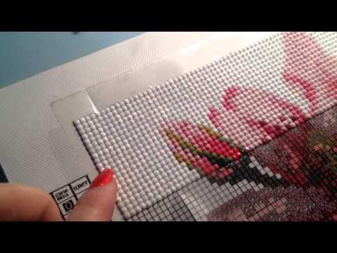 Оформление картин алмазной вышивки 28