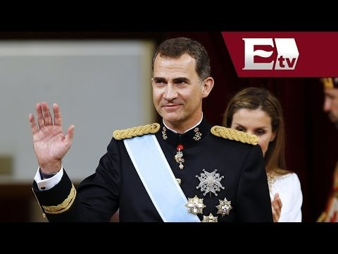 Proclama Parlamento de España a nuevo rey Felipe VI/ Global