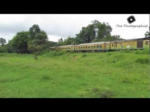 LTT ERS Duronto Madly Honking and Cruising Through Udupi !!