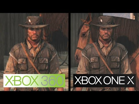 Red Dead Redemption | Xbox One X vs Xbox 360 | 4K Graphics Comparison
