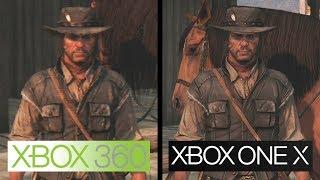 Red Dead Redemption | Xbox One X vs Xbox 360 | 4K Graphics Comparison