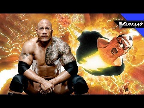 One Shot: The Rock Is Black Adam!
