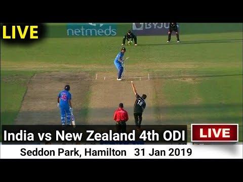 Live: IND Vs NZ 4th ODI | india vs new zealand 2019 highlights | 2019 Series