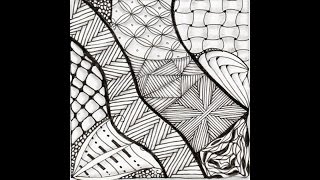 Weekly Zentangle® Tangle Video- HIBRED-August 10-16, 2015