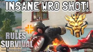 INSANE WRO SHOTS! // SOLO (17 KILLS) - Rules of Survival (Tagalog)