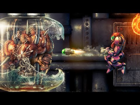 Super Metroid - Depths of Tourian - Photoshop Speed Art