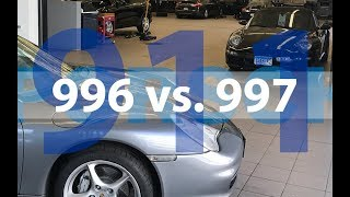 Part 1: Porsche 911 997 vs. 996 Design, Styling & Interior