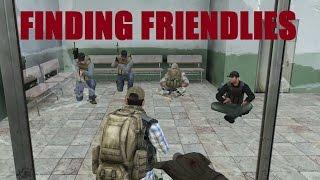 FINDING FRIENDLIES | DayZ Mod Vanilla | Ep 2