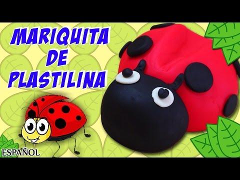 Play Doh – Ladybug | Cómo Hacer Mariquita de plastilina | Play Doh Spanish