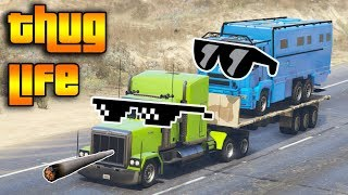GTA 5 ONLINE : THUG LIFE AND FUNNY MOMENTS (WINS, STUNTS AND FAILS #25)