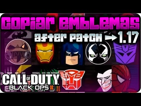 COMO COPIAR EMBLEMAS BLACK OPS 2 [1.16] | GLITCH AFTER PATCH 2014 FUNCIONA