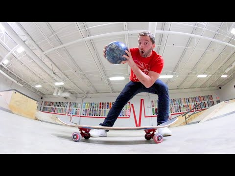 ReVive Skateboards Strength Test / Bowling Ball Drop!