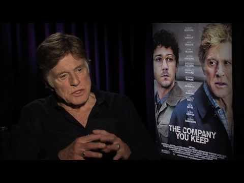 Robert Redford And Shia LaBeouf Talk 'The Company You Keep' With Andrew Freund
