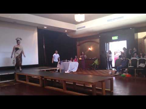 Fashion show  from Thai-Ireland Foundation 2013