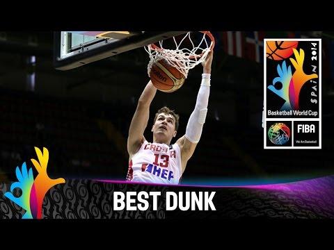 Croatia V Senegal - Best Dunk - 2014 Fiba Basketball World Cup video