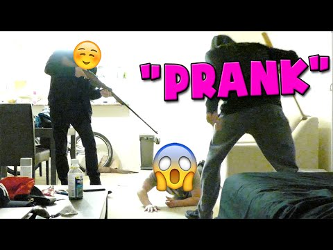 POINT BLANK ROBBERY PRANK - DEEP INTO YOUTUBE - ROSS REACTS