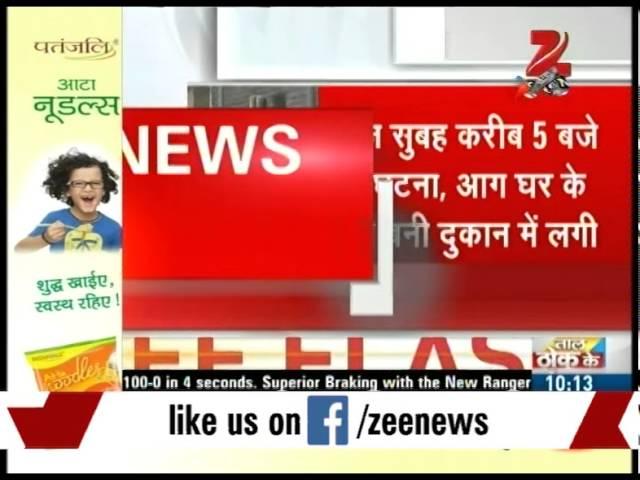 Four people burnt dead in Delhi's Dilshad Garden