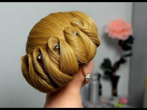 Download Hairstyle For Medium Hair. Wedding Updo Video to 3gp, Mp4 ...