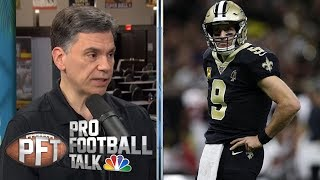 Do New Orleans Saints have leverage over Drew Brees? | Pro Football Talk | NBC Sports