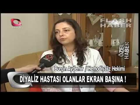 EV HEMODİYALİZİ - Flash TV 03 04 2015