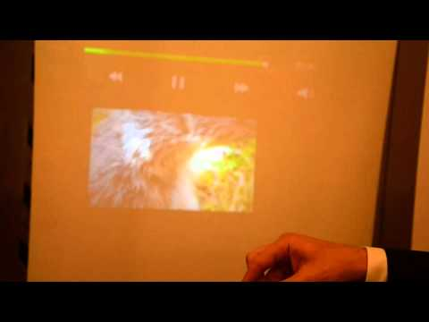 Samsung Beam: Projector Demo From Mobile World Congress