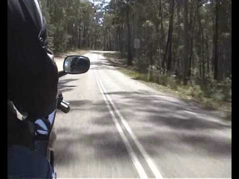 Motorcycling in Australia: Bermagui, New South Wales