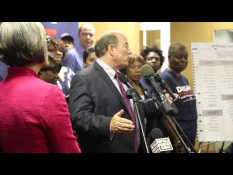 Full Press Conference: Write-In Candidate