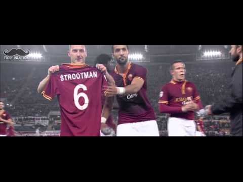 Totti Tribute to Kevin Strootman after Goal