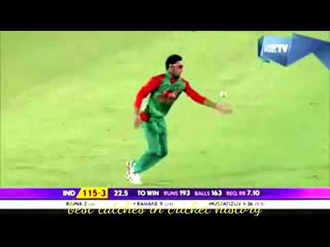 Best catches in cricket history ever || best one hand catches in cricket history ever!!