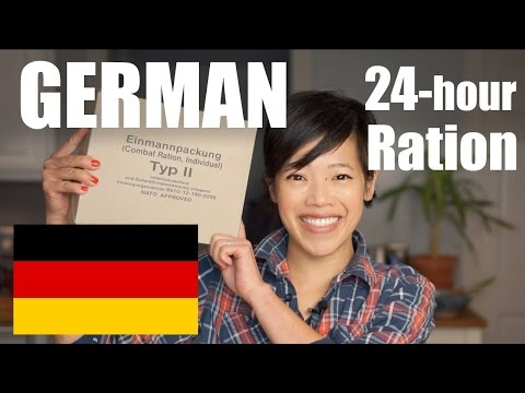 GERMAN 24-Hour Ration TASTE TEST | Einmannpackung Typ II