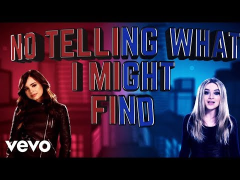 """Sabrina Carpenter and Sofia Carson Wildside from """"Adventures in Babysitting"""" pop music videos 2016"""