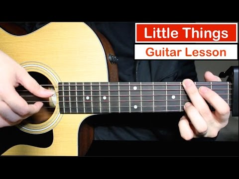 One Direction - Little Things | Guitar Lesson (Tutorial) How to play Chords