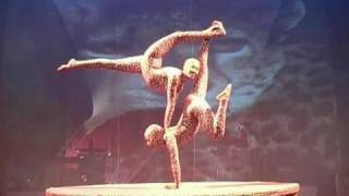 DOU BOUNTY DOUBLE CONTORTION ACT. (AFRICAN CIRCUS ACROBATS)