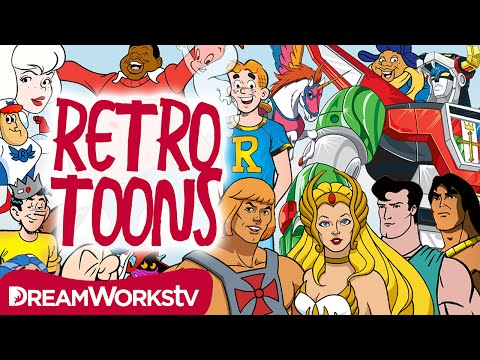 He-Man Casper Fat Albert & the Best Retro Toons on DreamWorksTV...