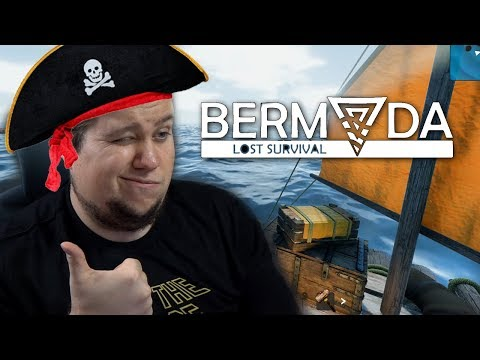 БЕРМУДЫ: СТРОИМ ПЛОТ И УПЛЫВАЕМ! - Bermuda Lost Survival
