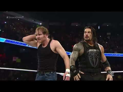 Roman Reigns & Dean Ambrose vs. The Dudley Boyz: SmackDown, February 18, 2016